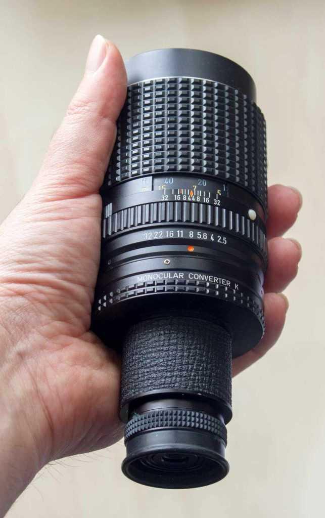Pentax 135mm ile el dürbünü