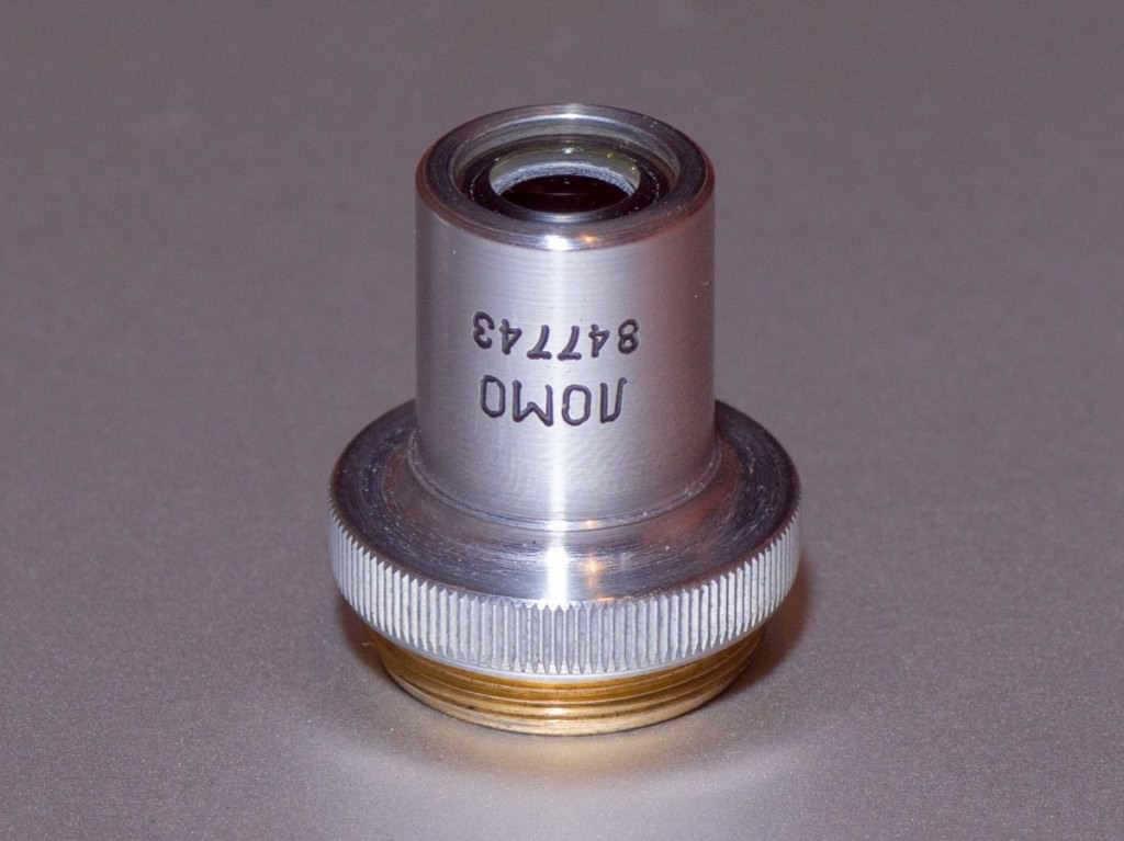 Lomo-3.7X-0.11-Mikroskop-Objektifi