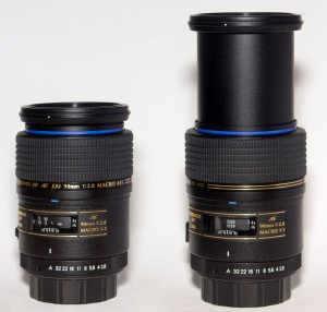 Tamron 90mm 1:1 macro lens