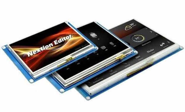 Nextion HMI Dokunmatik ekranları kolay kullanımıyla birçok yeni olanak sağlıyor.
